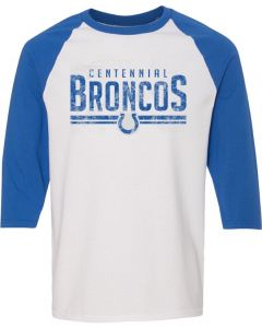Tri-Blend Three-Quarter Sleeve Raglan Tee