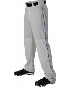 Open Bottom Baseball Pant with Braid