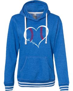 J. America Relay Women's Hooded Pullover Sweatshirt