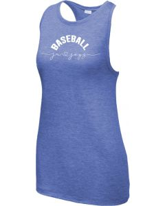 Sport-Tek Ladies Posi Charge Tri Blend Wicking Tank