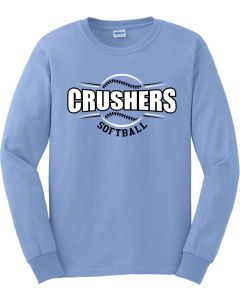Ultra Cotton Long Sleeve T-Shirt - Crushers