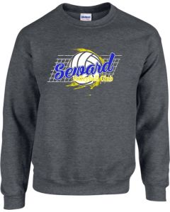 Seward Volleyball Crewneck Sweatshirt