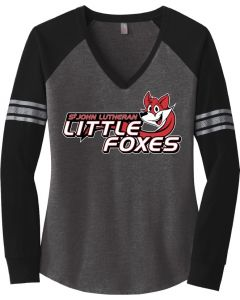 Ladies Game Long Sleeve V-Neck